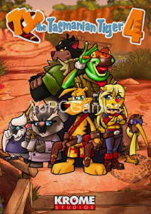 TY the Tasmanian Tiger 4 PC Game