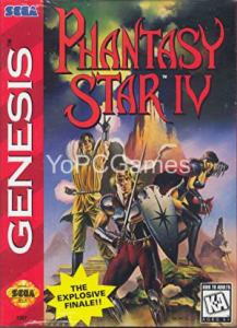 Phantasy Star IV: The End of the Millennium Game