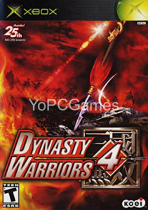 Dynasty Warriors 4 Game