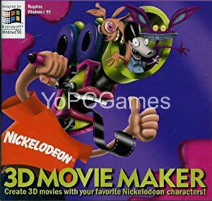 Nickelodeon 3D Movie Maker Game