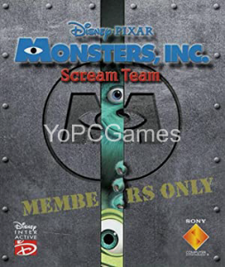 Monsters, Inc. Scream Team Full PC