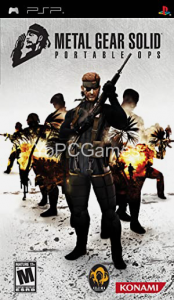 Metal Gear Solid: Portable Ops Full PC