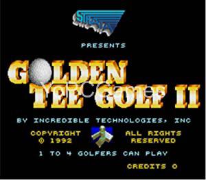 Golden Tee Golf II PC