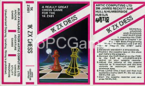 1K ZX Chess PC Game