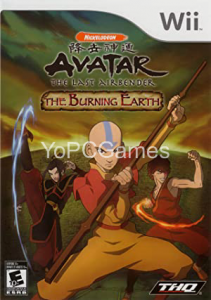 Avatar: The Last Airbender - The Burning Earth Game