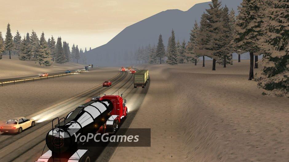 18 wheels of steel: american long haul screenshot 1