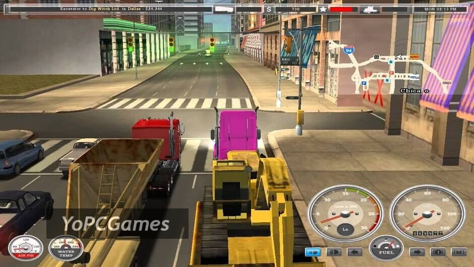 18 wheels of steel: american long haul screenshot 5