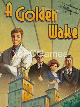 a golden wake cover