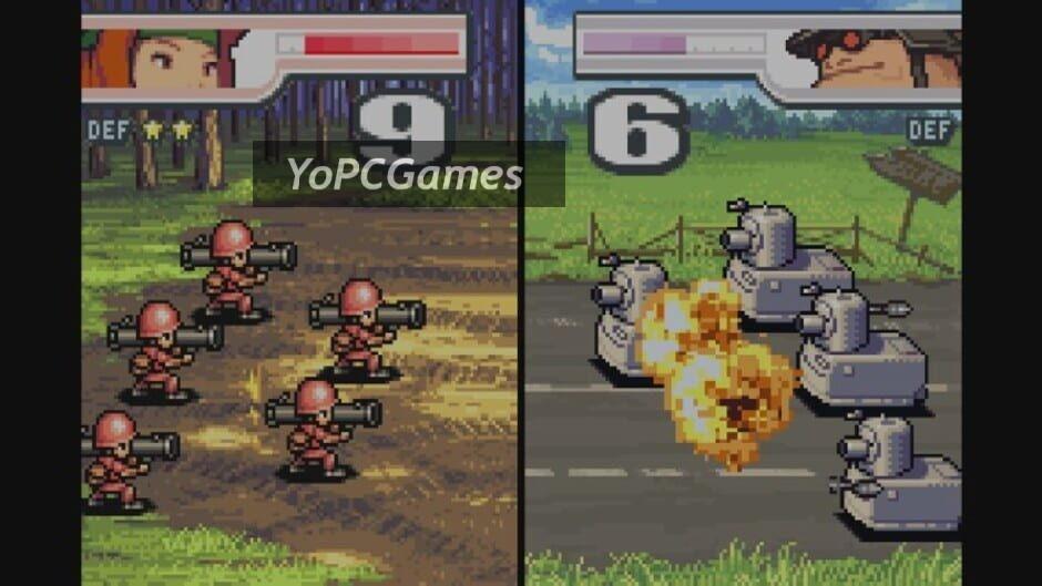 advance wars 2: black hole rising screenshot 1
