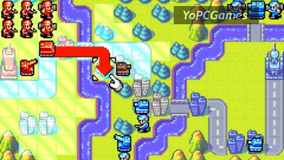advance wars screenshot 5