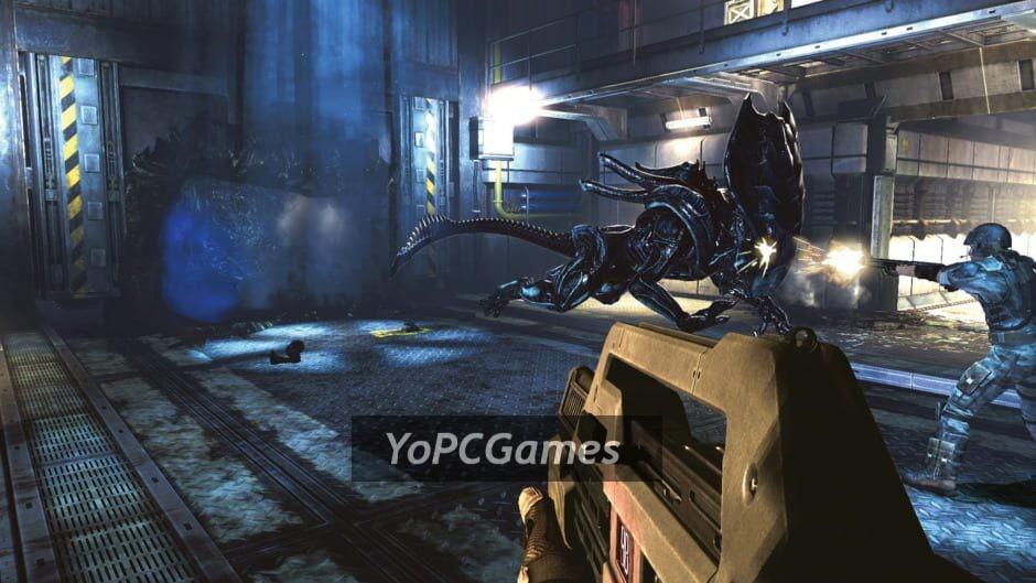 aliens: colonial marines screenshot 1