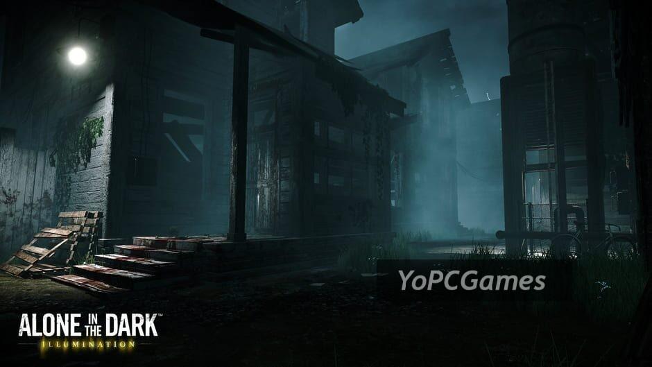 alone in the dark: illumination screenshot 2