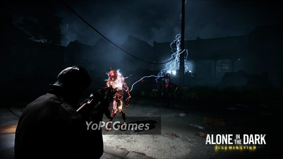 alone in the dark: illumination screenshot 3