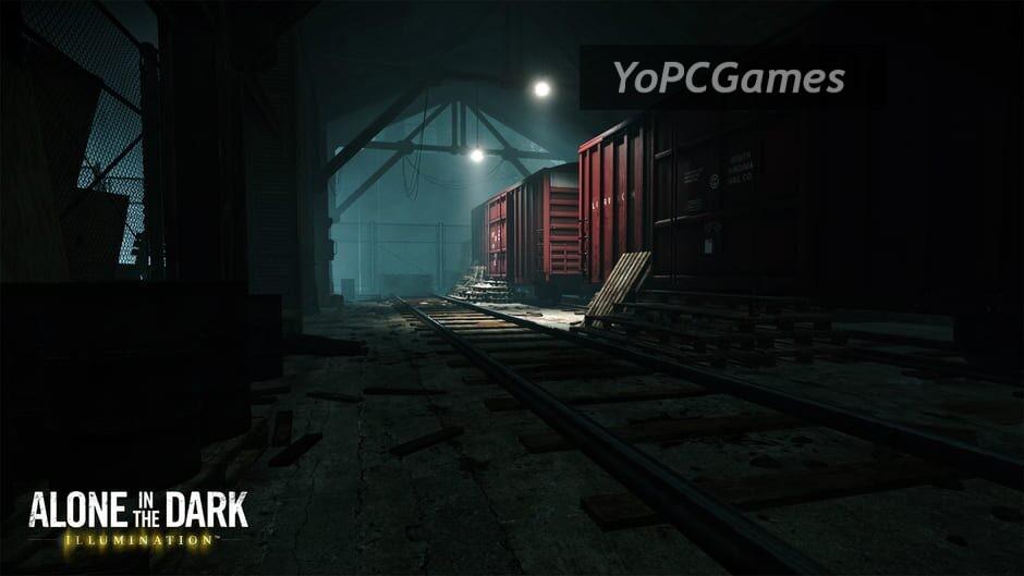 alone in the dark: illumination screenshot 4