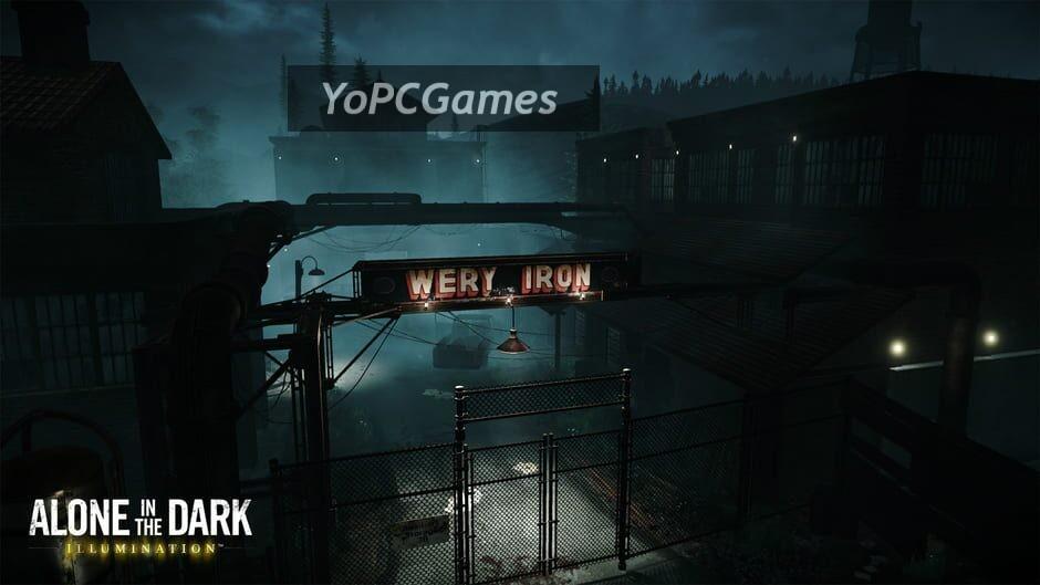 alone in the dark: illumination screenshot 5