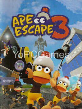 ape escape 3 poster