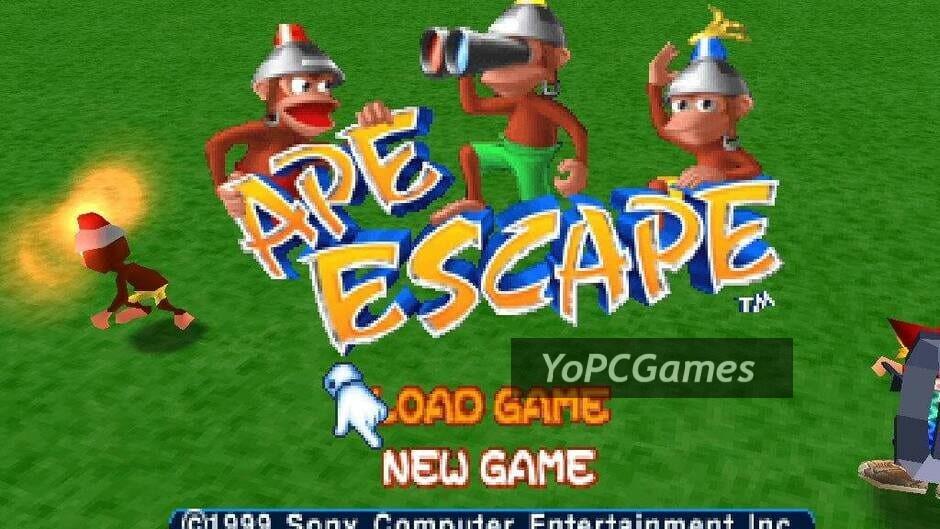 ape escape screenshot 1