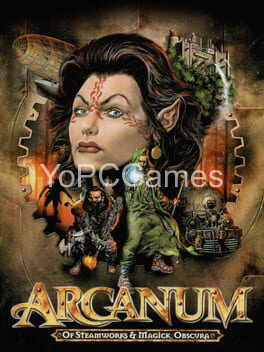 arcanum: of steamworks and magick obscura poster