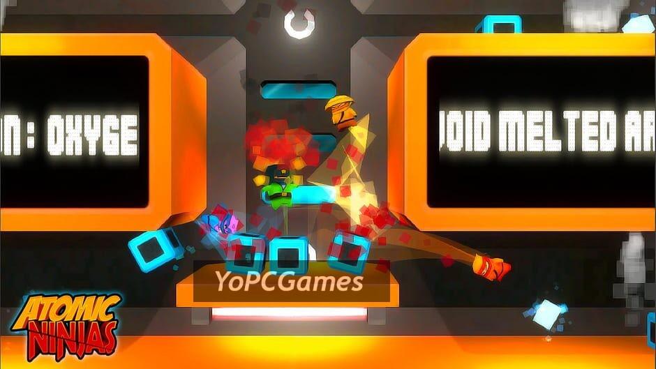 atomic ninjas screenshot 1