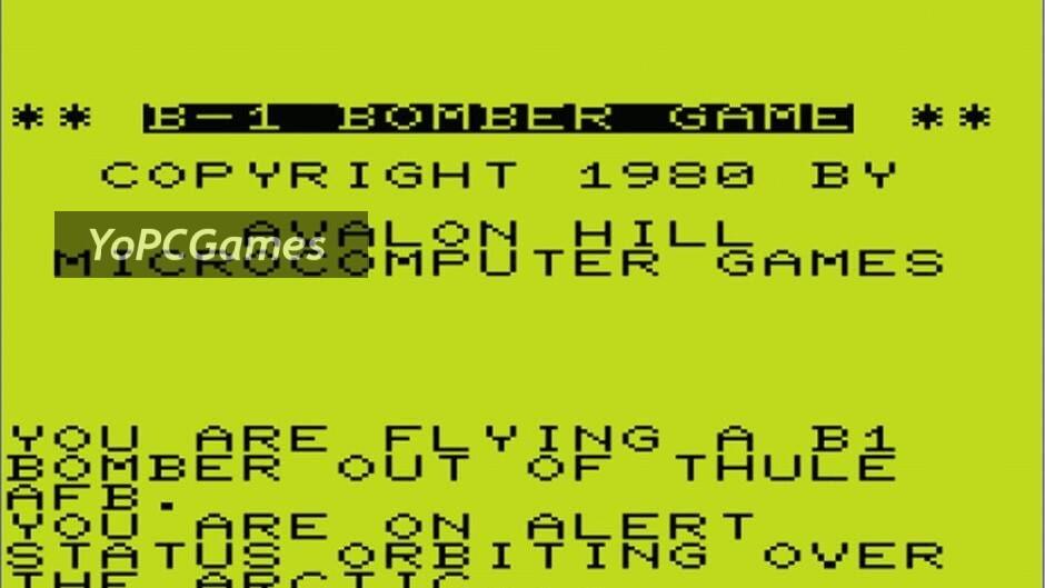 b-1 nuclear bomber screenshot 1
