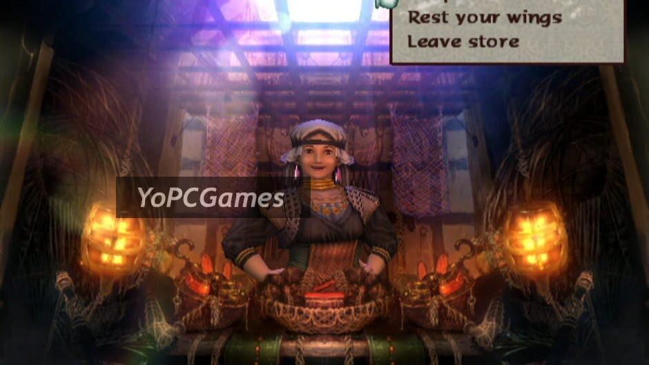 baten kaitos: eternal wings and the lost ocean screenshot 3