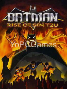 batman: rise of sin tzu cover