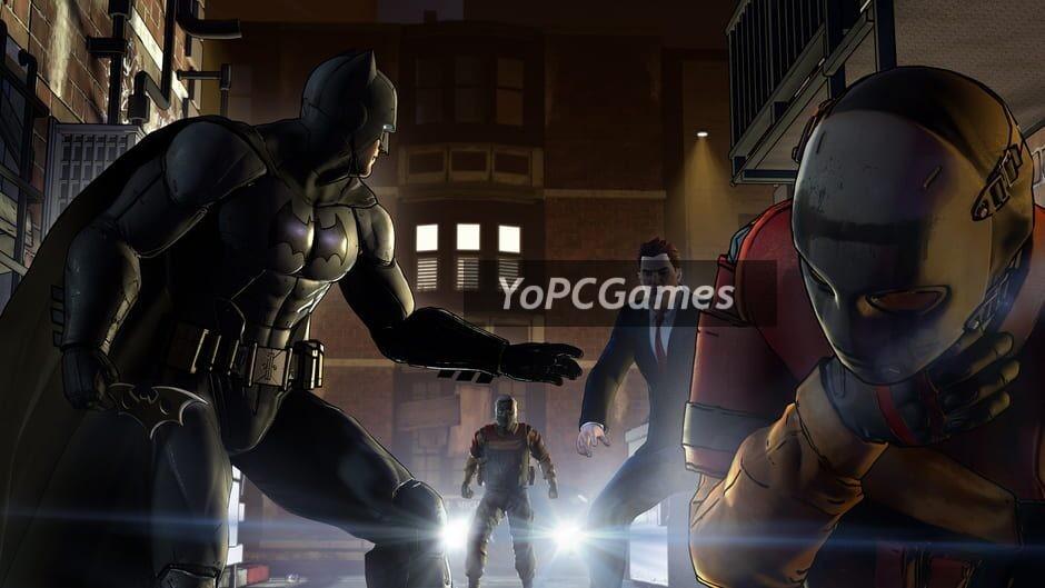 batman: the telltale series screenshot 4