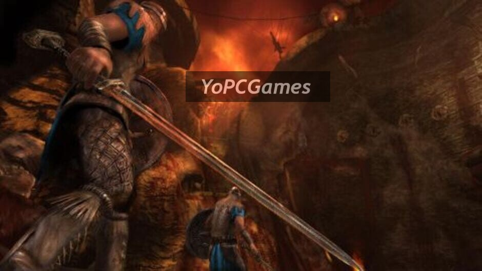 beowulf: the game screenshot 1