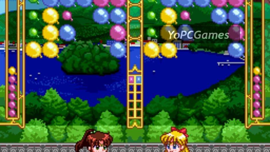 bishoujo senshi sailor moon super s: fuwa fuwa panic screenshot 1