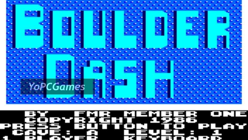 boulder dash screenshot 5