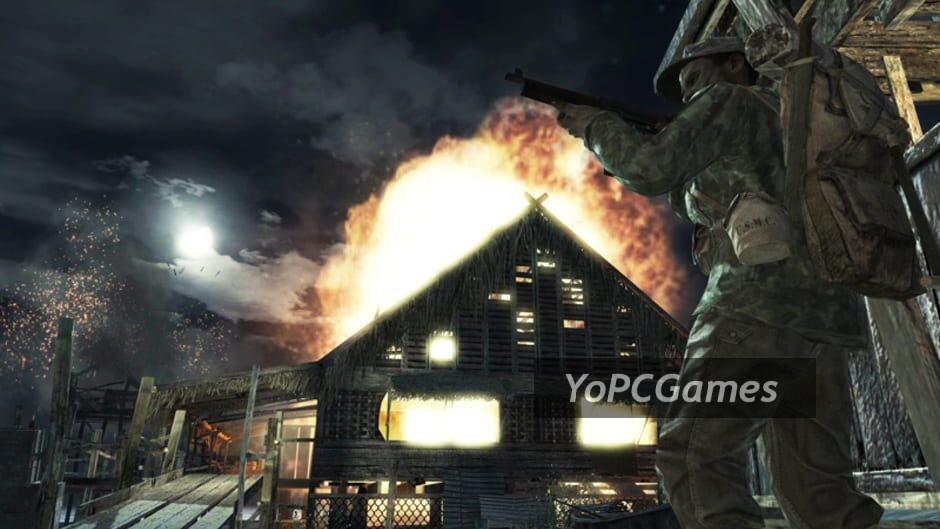 call of duty: world at war screenshot 2