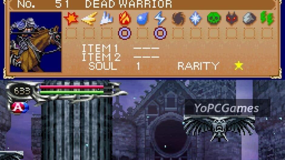 castlevania: dawn of sorrow screenshot 3