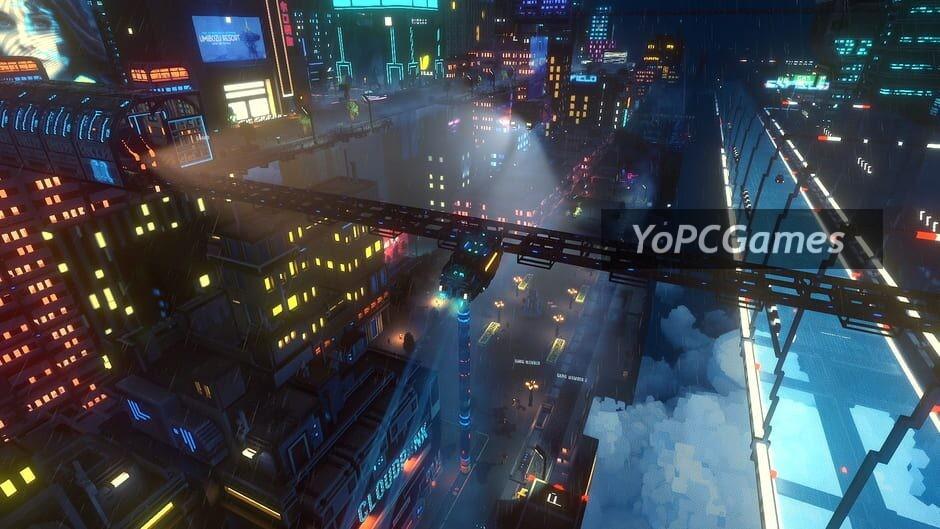 cloudpunk screenshot 2