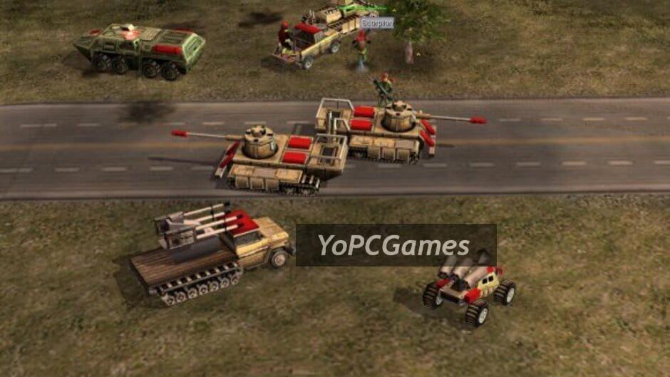 command & conquer: generals screenshot 4