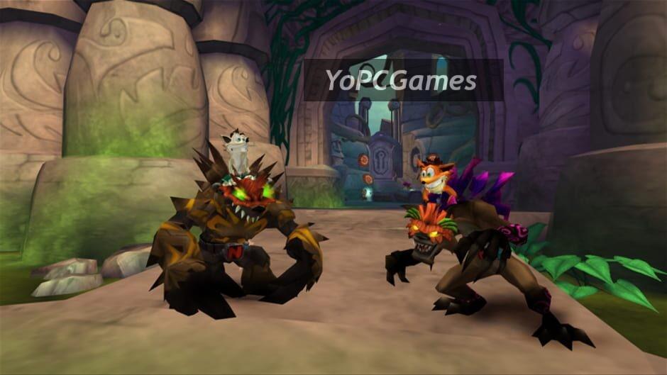 crash of the titans screenshot 1