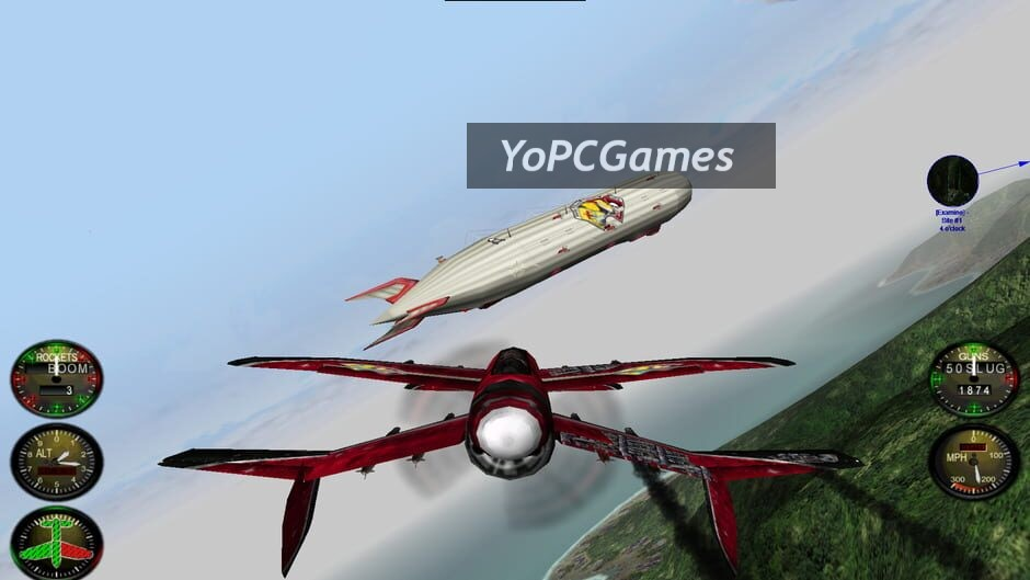 crimson skies screenshot 1