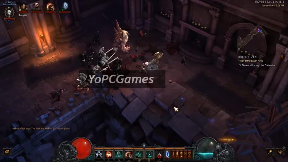diablo iii: rise of the necromancer screenshot 4