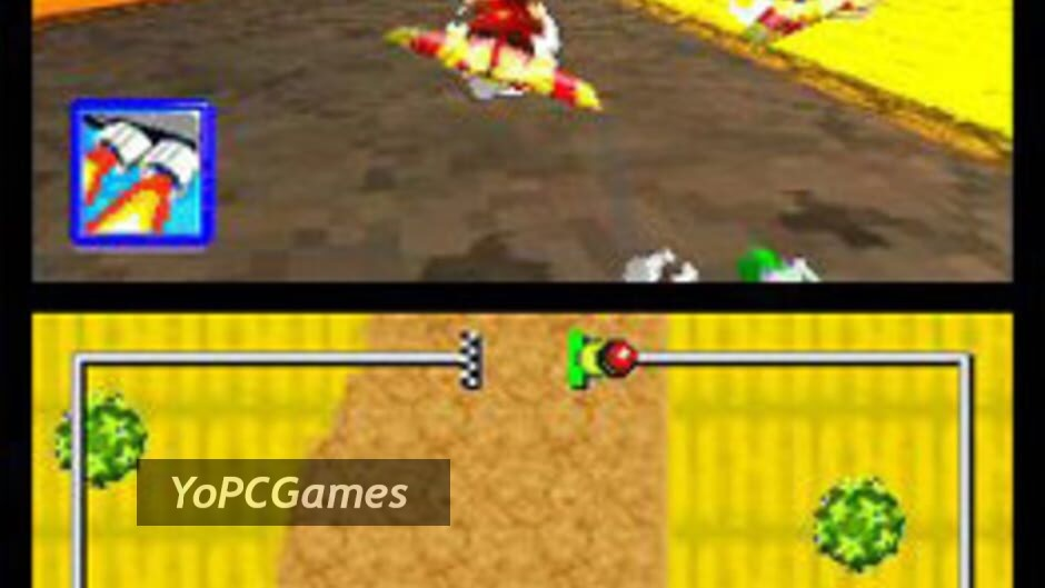 diddy kong racing ds screenshot 1