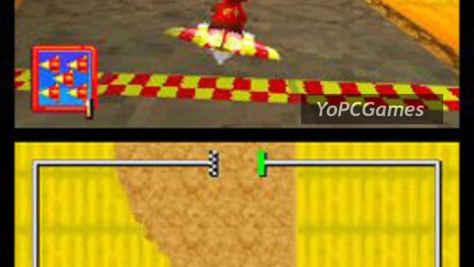 diddy kong racing ds screenshot 3