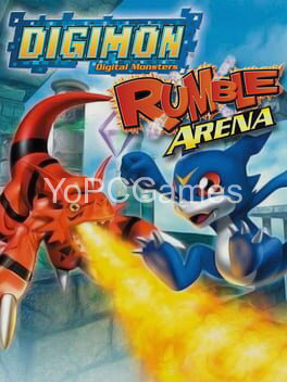digimon rumble arena poster