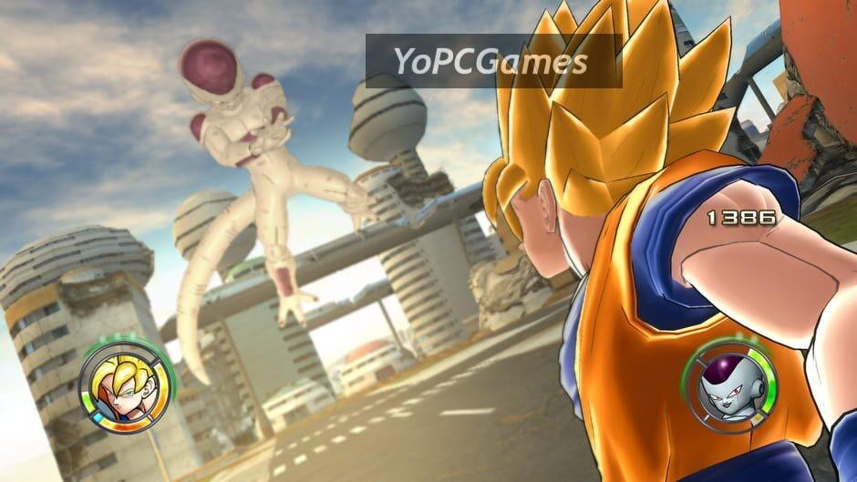 dragon ball: raging blast 2 screenshot 4