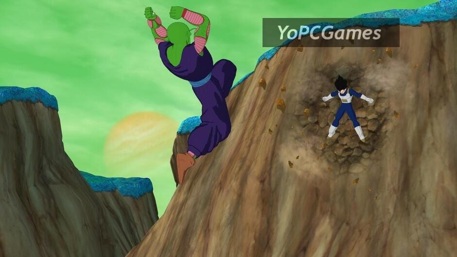 dragon ball: raging blast screenshot 1