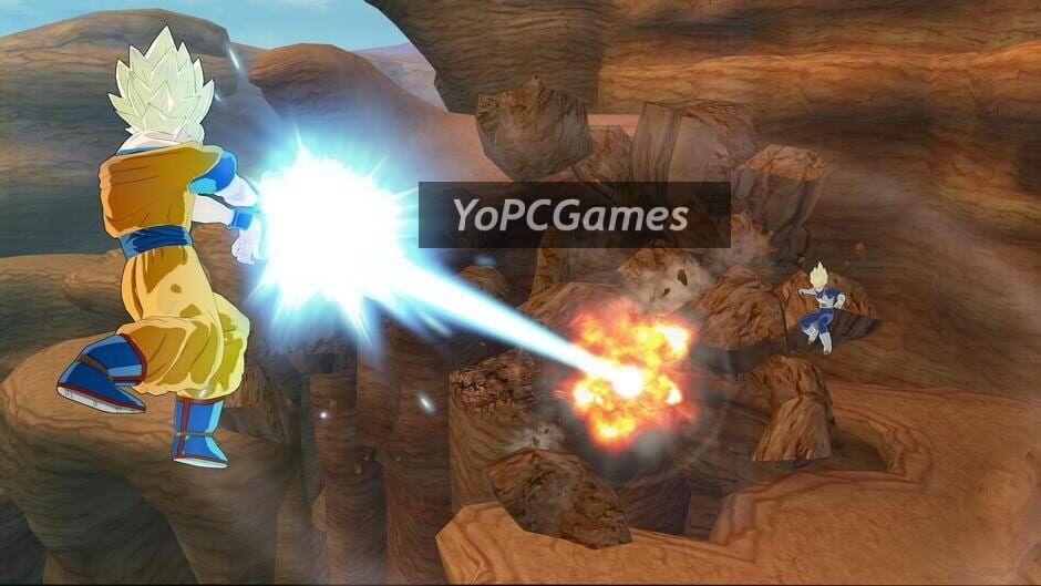dragon ball: raging blast screenshot 3