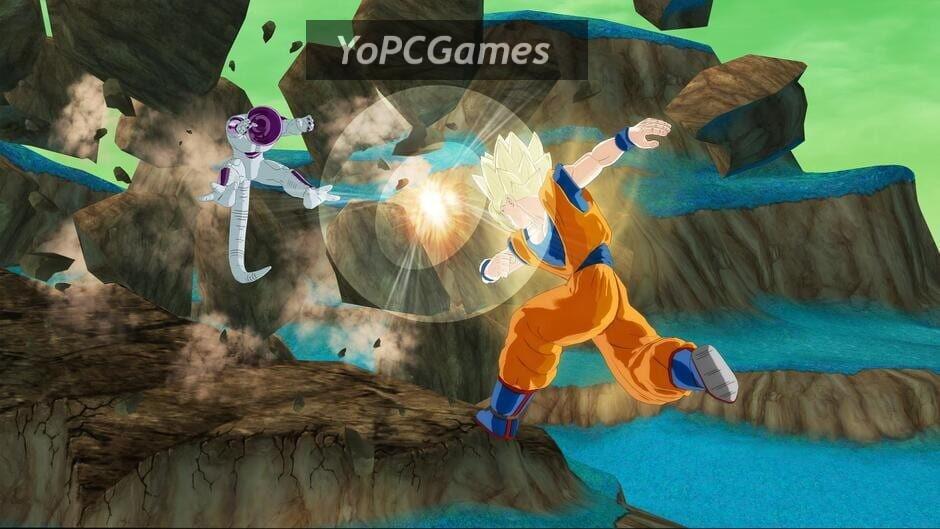 dragon ball: raging blast screenshot 4