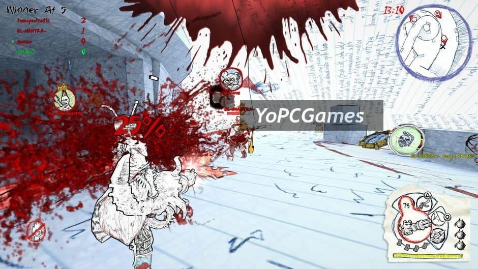 drawn to death screenshot 1