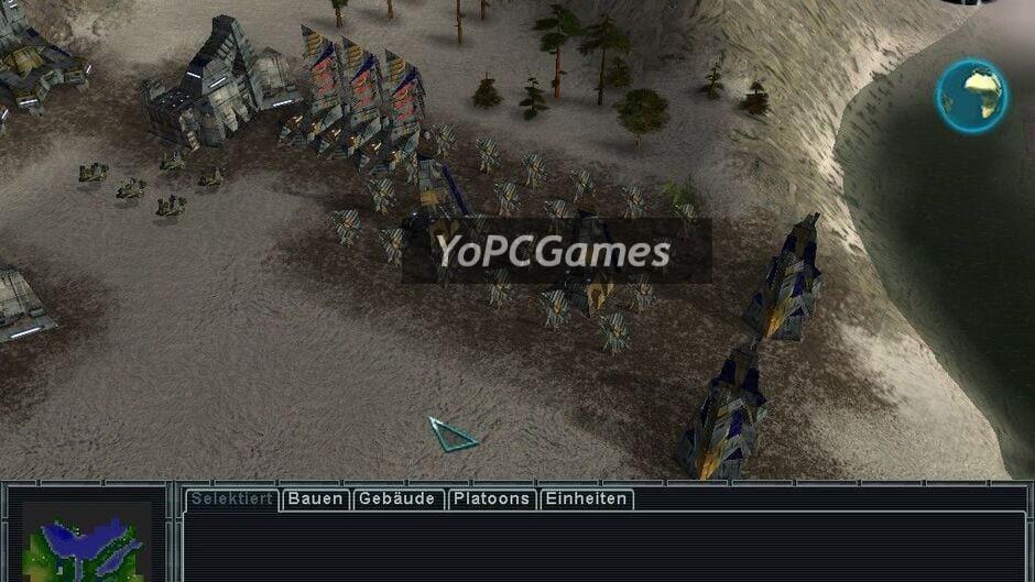 earth 2150: lost souls screenshot 1