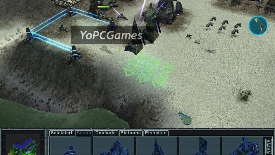 earth 2150: lost souls screenshot 3