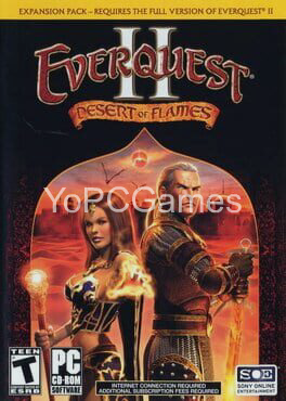 everquest ii: desert of flames cover