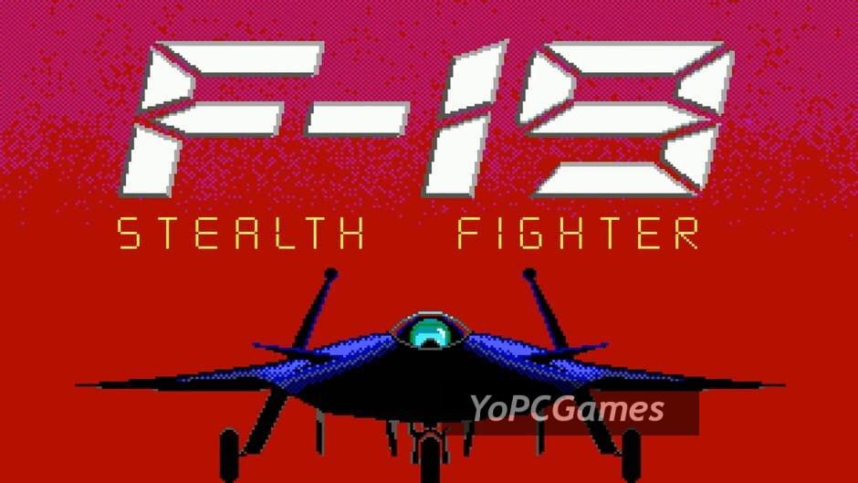 f-19 stealth fighter screenshot 5