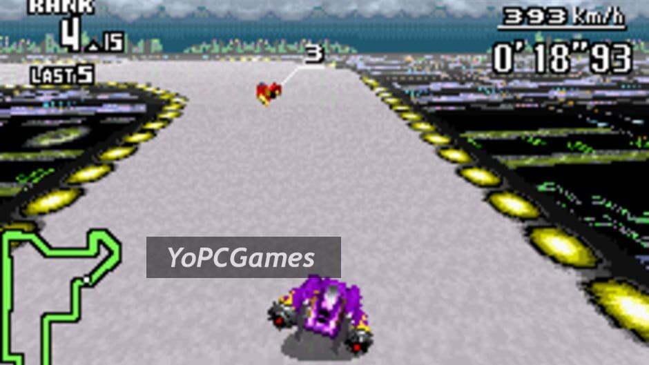 f-zero: maximum velocity screenshot 1